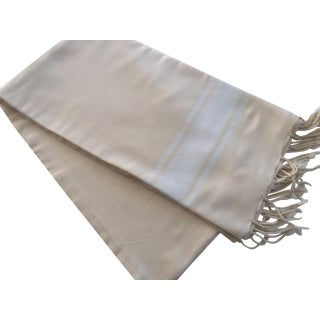 Handwoven Belgian Throw or Tablecloth