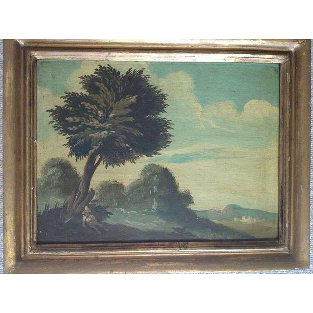 Pair of 19th Century Italian Landscapes - Image 3 of 9