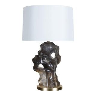 Smoked Crystal Ruyi Lamp