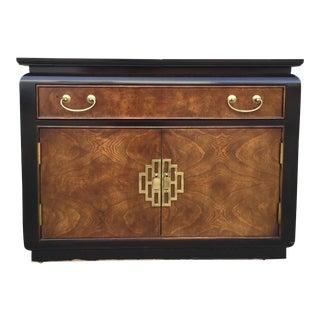 Chin Hua Century Furniture Rolling Bar Cabinet
