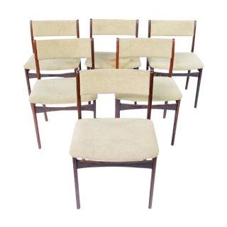 Mid-Century Modern Danish Chairs - Set of 6