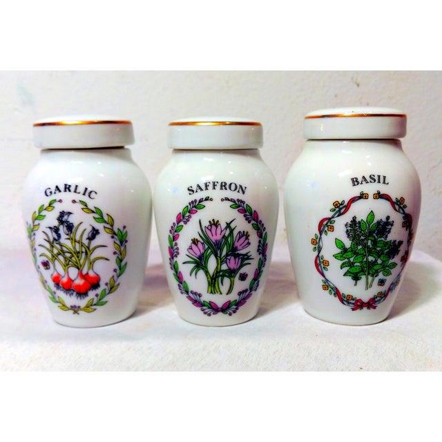 Franklin Mint Spice Jars - Set of 23 - Image 10 of 11