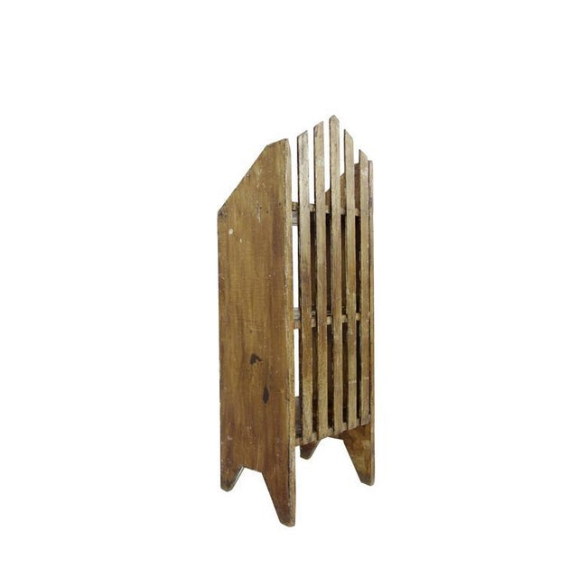 Primitive Painted Three-Tier Shelf - Image 5 of 9