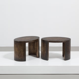 The Oval Bronze Collection Side Tables by Talisman Bespoke