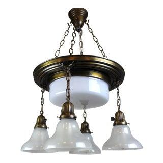 Classical Revival 5 light Shower Fixture.