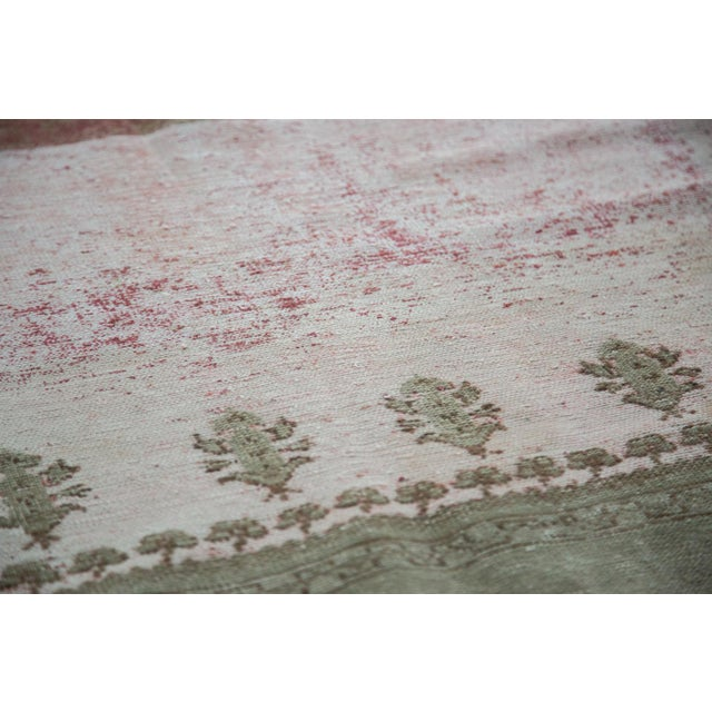 "Image of Distressed Ghiordes Carpet - 8'9"" X 11'10"""