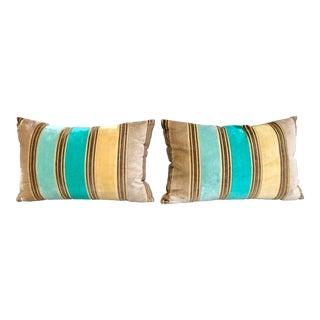 Pair of Velvet Decorative Pillow By Designers Guild