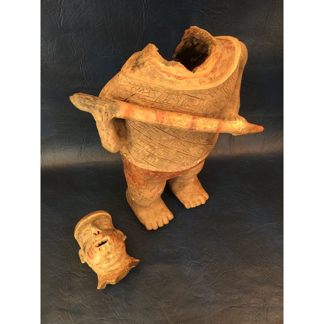 Pre-Columbian Colima Standing Pottery Figure - Image 11 of 11