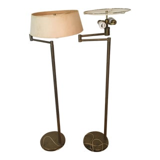 Nessen Mid-Century Modern Floor Lamps - A Pair