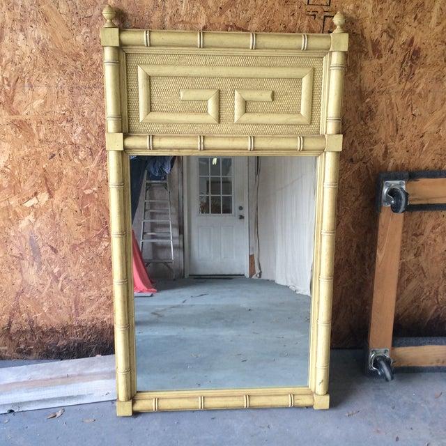 Dixie Shangri La Greek Key Mirror - Image 2 of 7