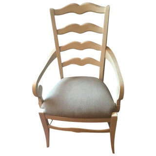 Ethan Allen Ladder Back End & Side Chairs - S/6