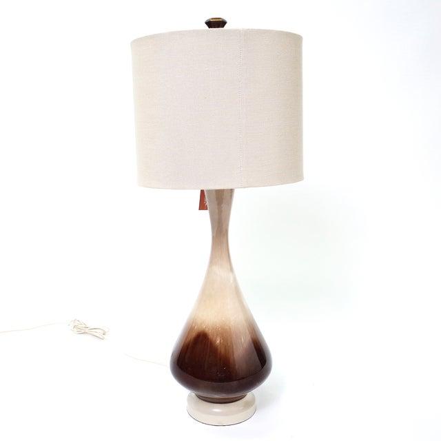 Image of Brown Dip Lamp