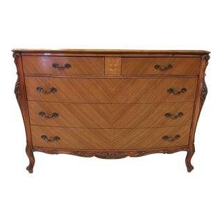 Sheraton Satinwood Chest
