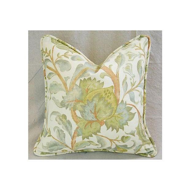 Designer Custom Acquitaine Lyceana Floral Pillow - Image 2 of 5