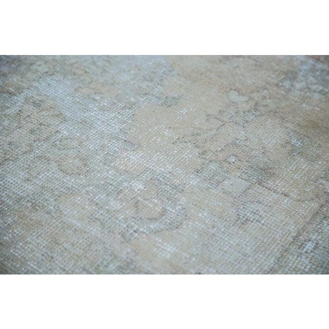 "Image of Distressed Oushak Carpet - 6' X 9'7"""