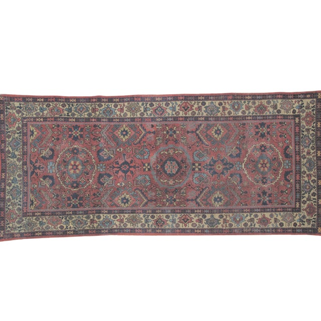 "Leon Banilivi Antique Sultanabad Rug - 4' X 9'3"" - Image 2 of 5"