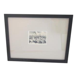 J. Brinkman Miniature Lithograph