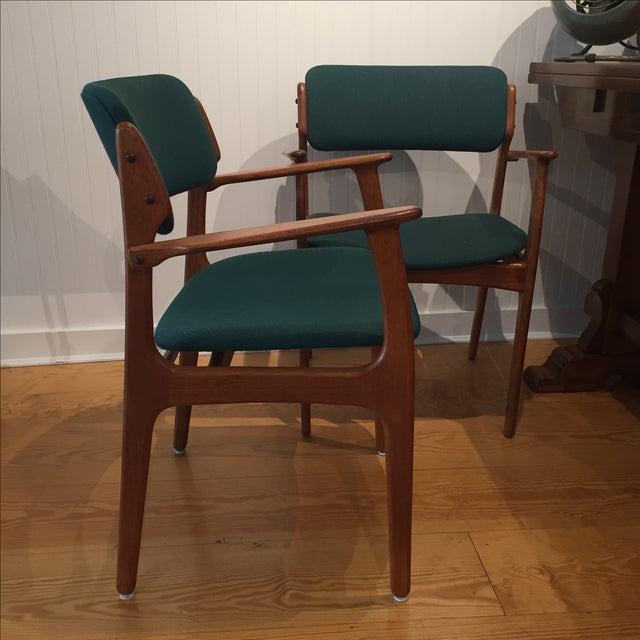 Danish Modern Erik Buch Chairs - Set of Two - Image 3 of 11