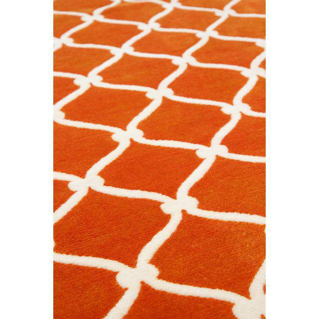 Cococozy Hand Knotted Wool Fence Rug