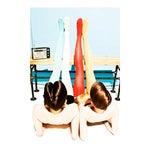 """ Summer Girls 1"" by Leif Huron"