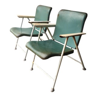 Russel Wright Samsonite Folding Patio Chairs