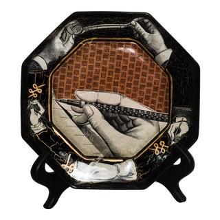 Vintage Decoupage Plate