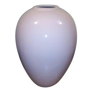 Large Pink Ceramic Vase