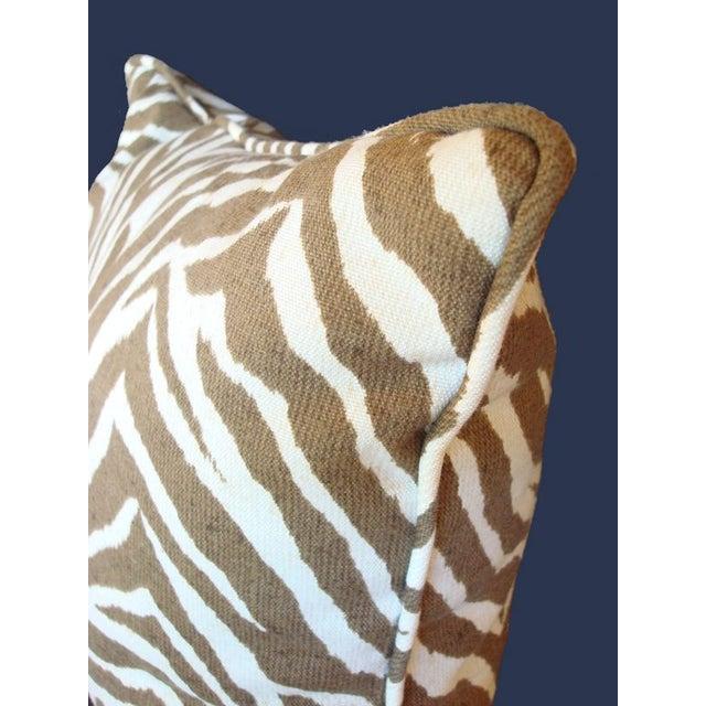 Outdoor Zebra Print Pillow Chairish