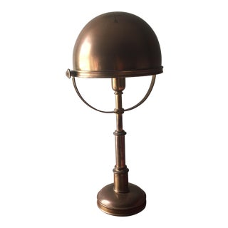 Ralph Lauren Brass Helmet Lamp
