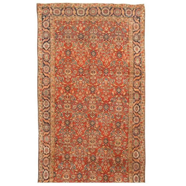 Antique Joshegan Carpet - Image 1 of 1