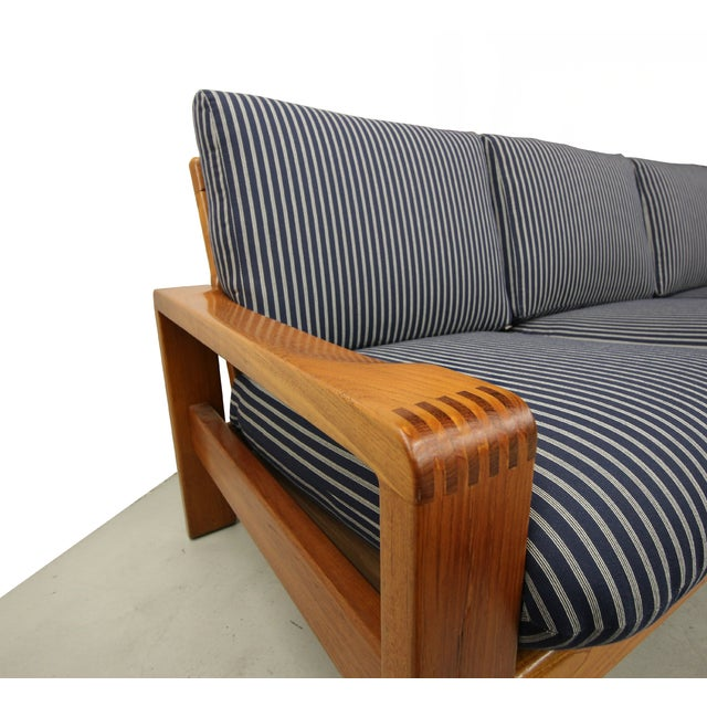 Mid Century Teak Danish Sofa by HW Klein - Image 5 of 6