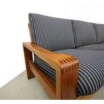 Image of Mid Century Teak Danish Sofa by HW Klein