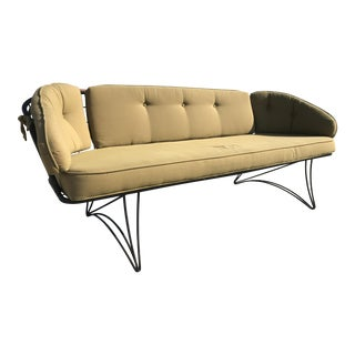 Homecrest Mid-Century Modern Metal Patio Sofa