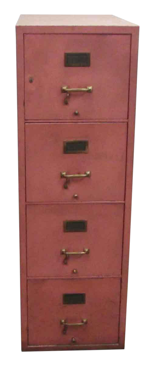 Pink File Cabinet
