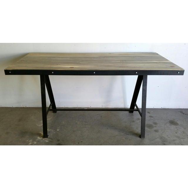 Image of Vintage Industrial Reclaimed Table