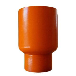 Gainey Orange Chalice Planter
