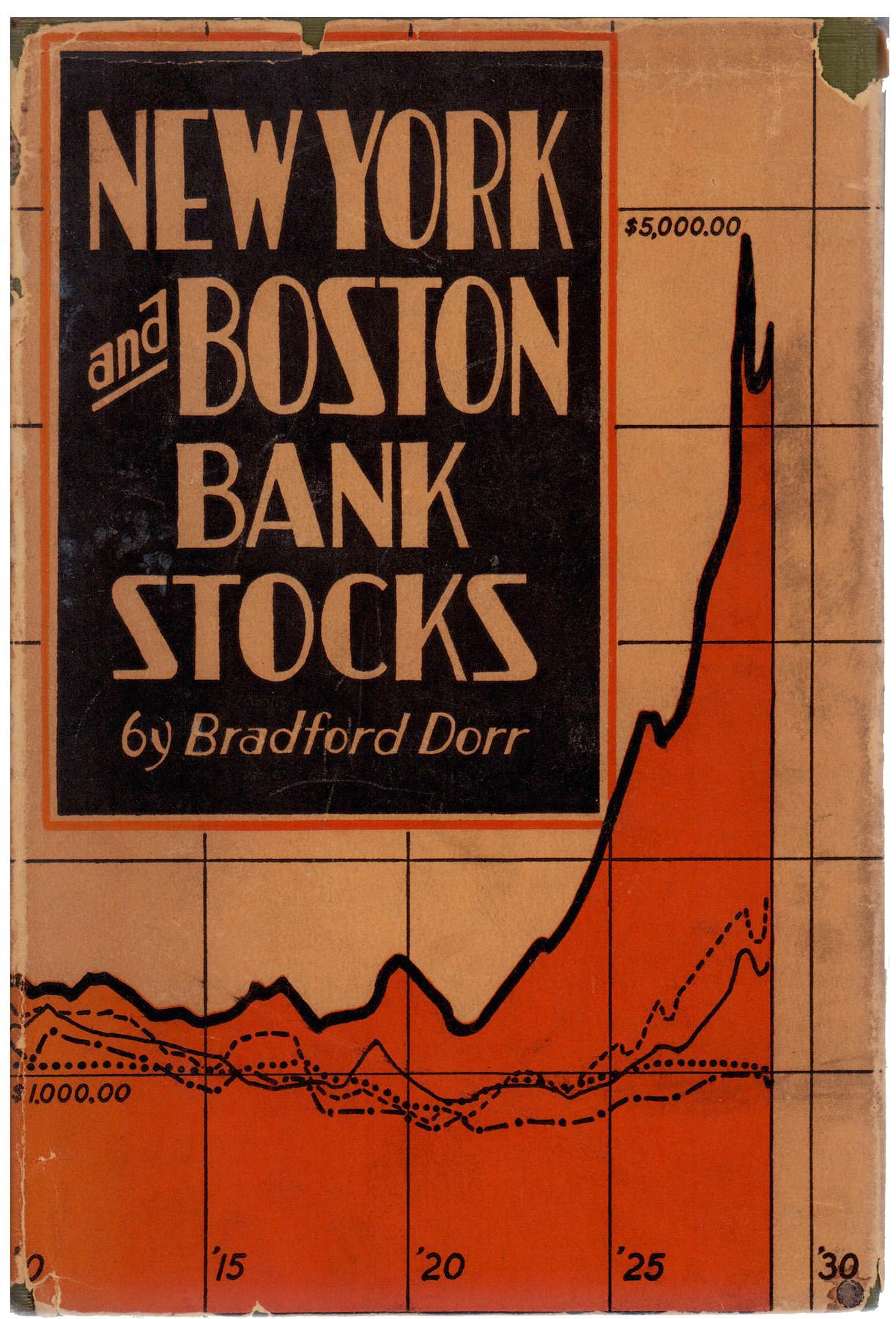 Quot New York And Boston Bank Stocks Quot By Bradford Dorr Chairish