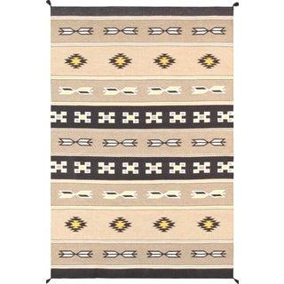 "Navajo Decorative Hand-Woven Rug - 5'11"" X 8'11"""