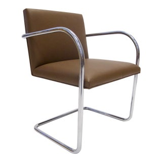 Knoll Mies Van Der Rohe Brno Chair in Saddle Leather