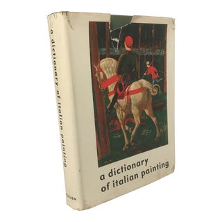 """""""A Dictionary of Italian Painting"""" Art Book"""