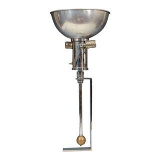 Gilbert Rohde Art Deco Nickel & Brass Lamp