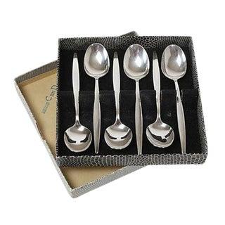 German Silverplate Tea Spoons - Set of 6