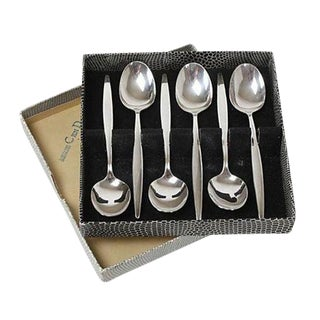 German Silverplate Tea Spoons - Set of 6