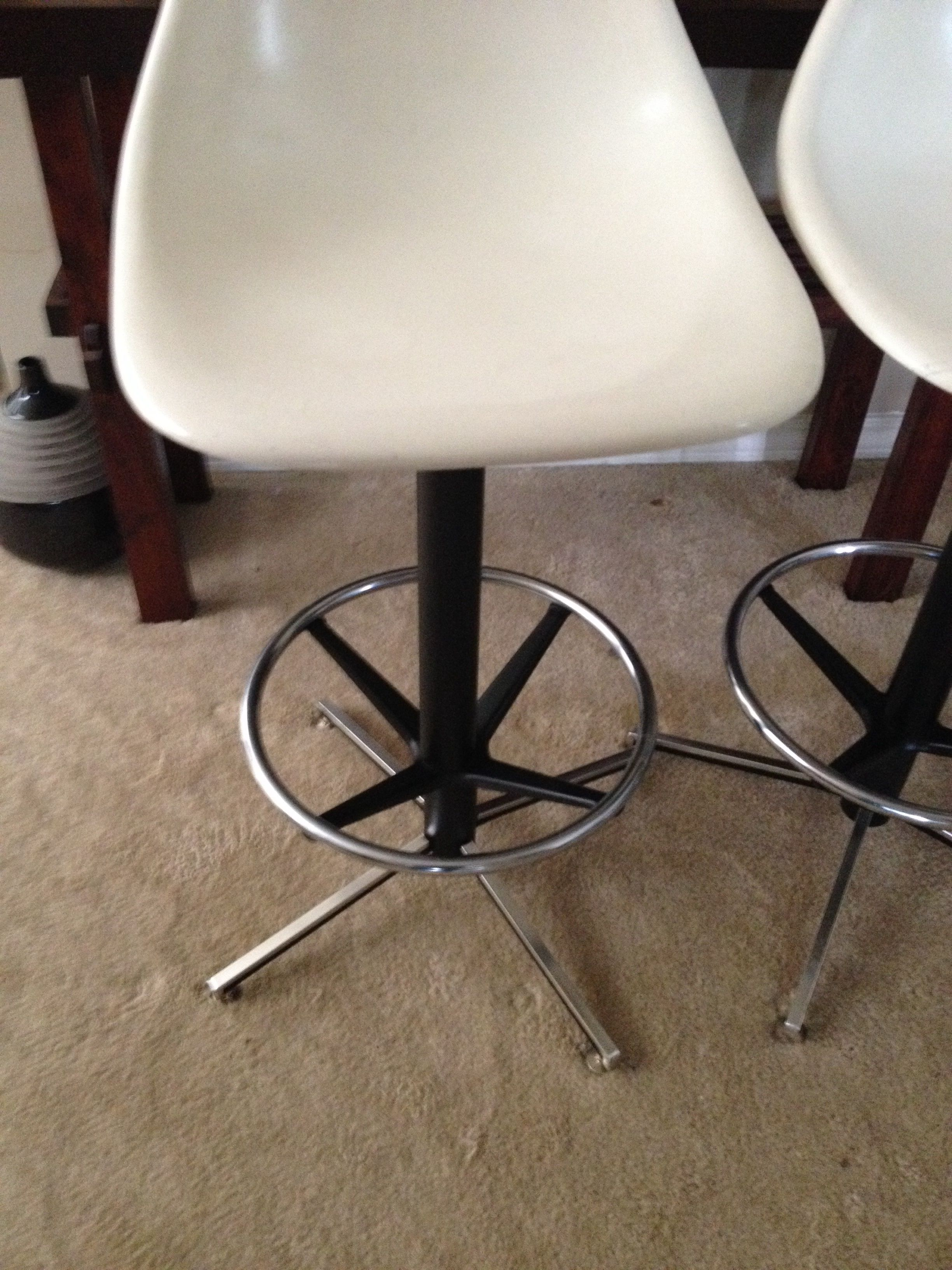Burke Krueger Style Swivel Bar Stools Set Of 5 Chairish