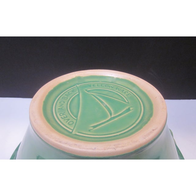 Large Sage Green Mixing Ceramic Bowl - Image 6 of 6
