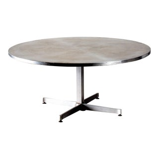 Rare Charlotte Perriand Side Table In Inox