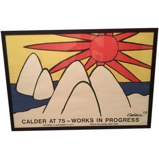 1973 Alexander Calder Poster