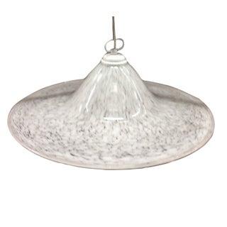 1970s Murano Glass Chandelier Pendant