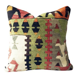 Vintage Kilim Square Pillow Cover