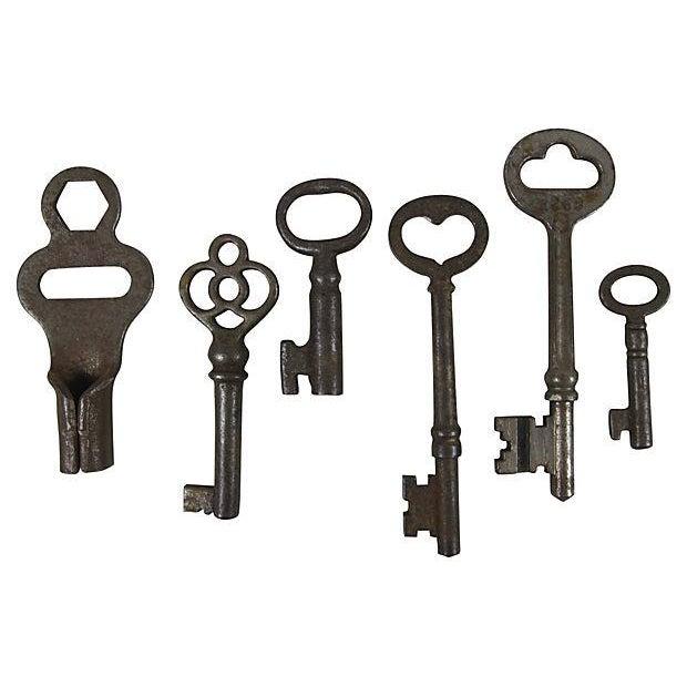 Image of Antique Skeleton Keys - Set of 12